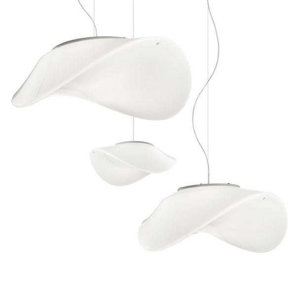 Vistosi Balance opal glass pendant lamp