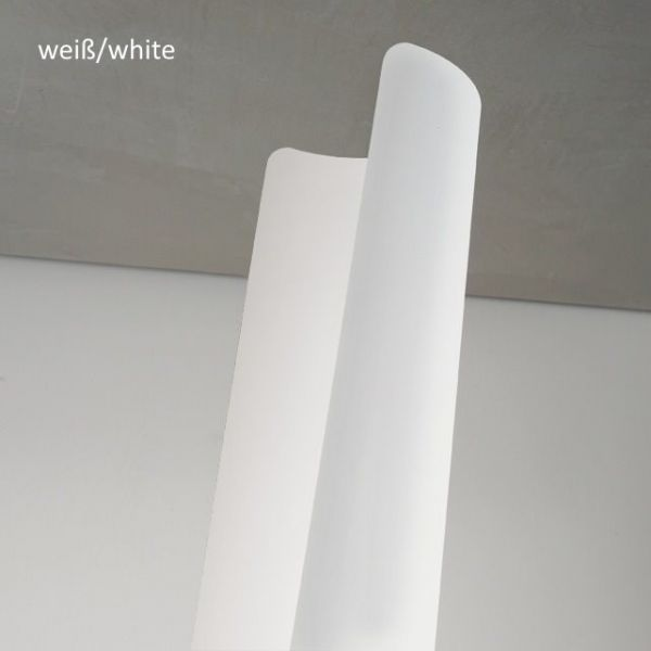 LED Pendellampe Bend Braga in weiß