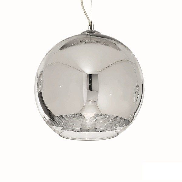 Ideal Lux glass pendant lamp Discovery 4-flames