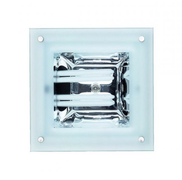 SLV glass downlight Quor 52/G ECG