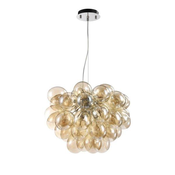 Maytoni glass pendant lamp Balbo yellow buy now