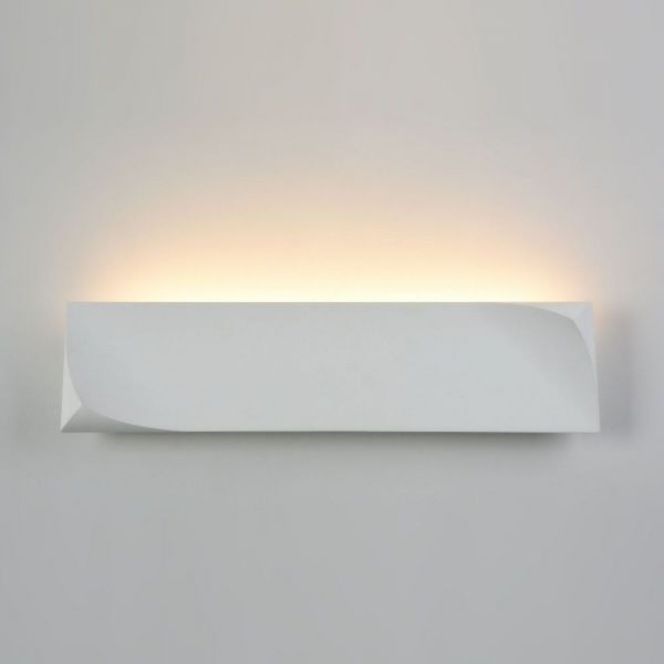 Maytoni LED plaster wall lamp Pero 3 on