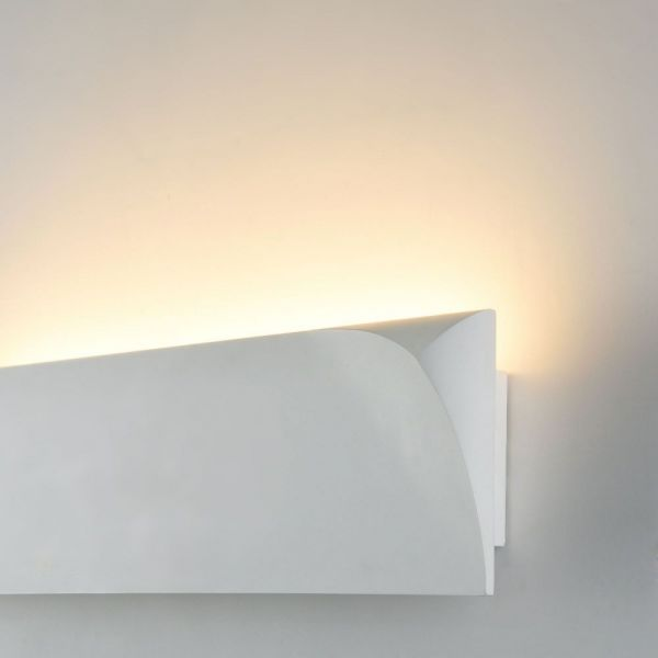 Maytoni LED plaster wall lamp Pero 3 left