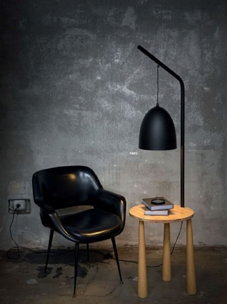 Ideal Lux side table floor lamp Piano black