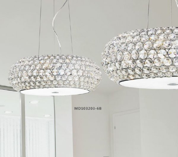 Illuminati crystal pendant lamp Star