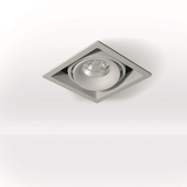 Planlicht square LED recessed spotlight Suez