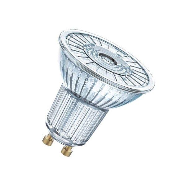 osram gu10 led lampe dimmbar 4 6w 830. Black Bedroom Furniture Sets. Home Design Ideas