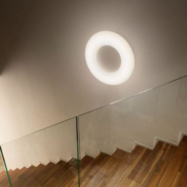 Ideal Lux LED ring pendant lamp Polo