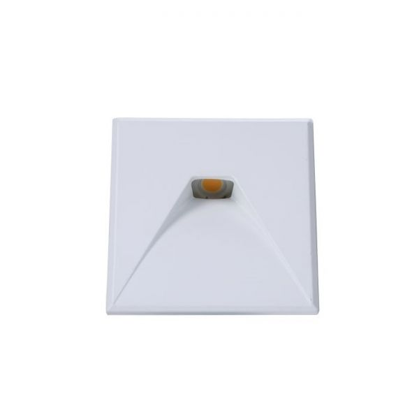 LED recessed wall light Wall MiniAMP 24V square 2, IP44