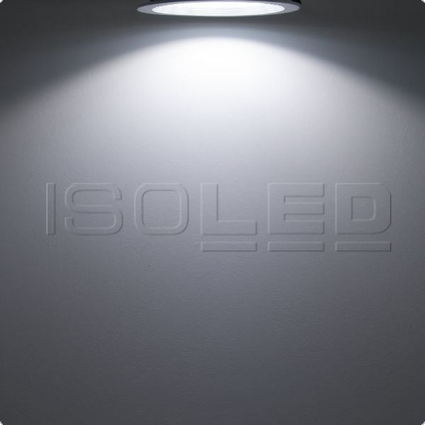 LED glass-downlight 30W round, neutral white