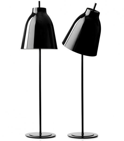 Lightyears Caravaggio black floor lamp