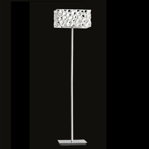 Illuminati square floor lamp Aqua