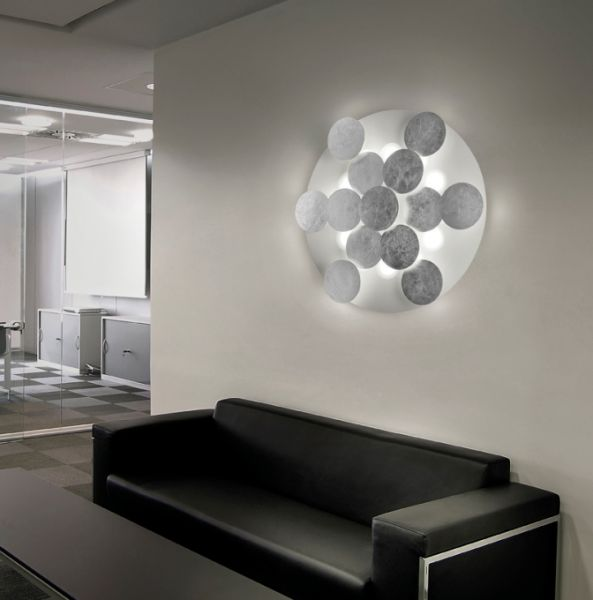 Braga Nuvola LED wall/ceiling lamp Ø60cm