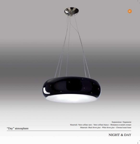 Ruggiu Night & Day pendant lamp