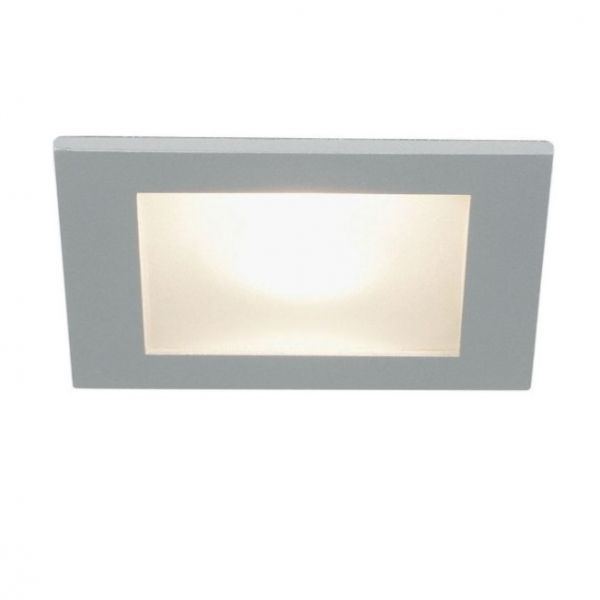 Planlicht square glass-downlight Spot 90, IP44