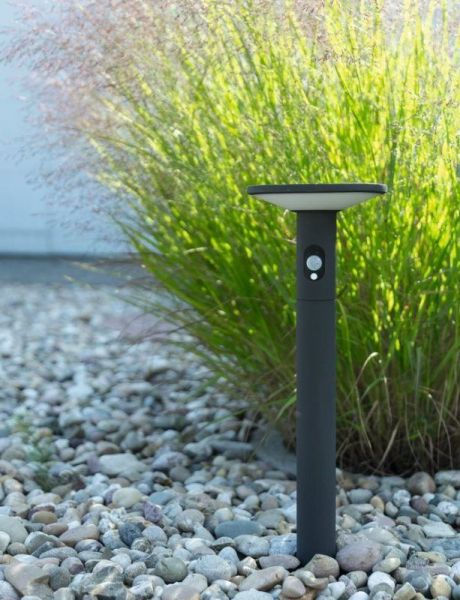 Solar LED floor lamp Karina with sensor 100cm