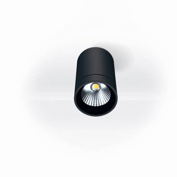 LED Deckenleuchte Spacetube IP54 in schwarz