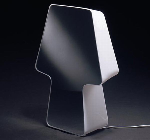 Ruggiu Shadow mirror table lamp
