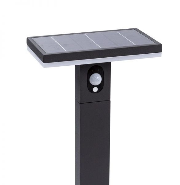 Solar LED pedestal lamp Ariane with sensor 60cm