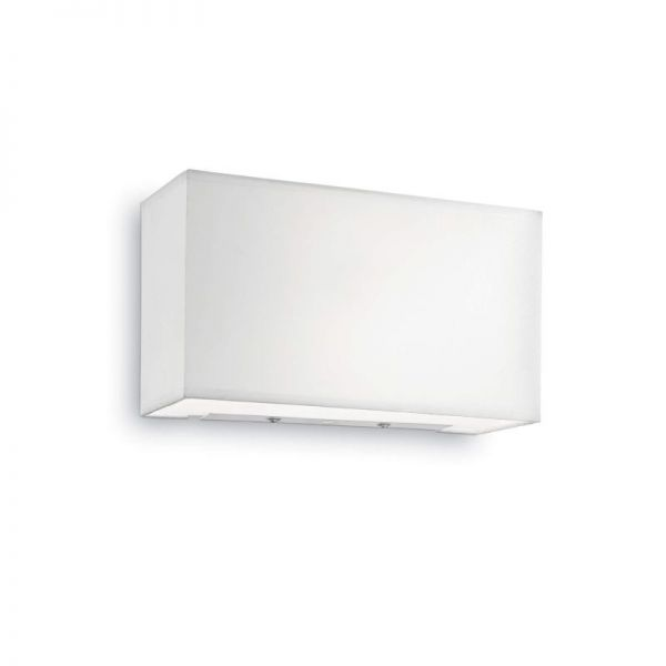 Ideal Lux square textil wall lamp Hotel